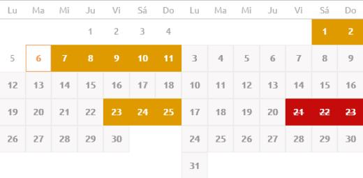 Wordpress Booking Calendar