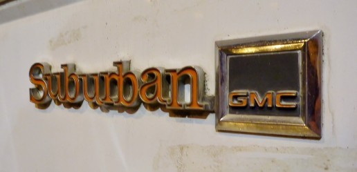 GMC Suburban para restaurar