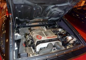 Motor V6 del Renault Alpine