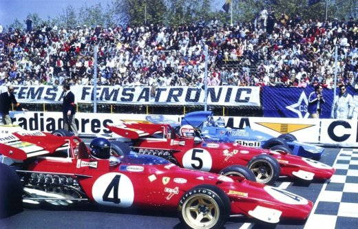 J.Ickx | C.Regazzoni | C.Amon (Spain 1971)