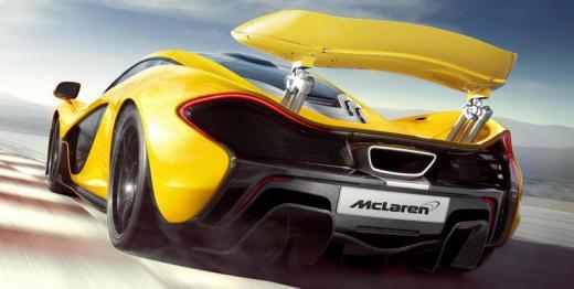 McLaren P1 Back Trasera 003