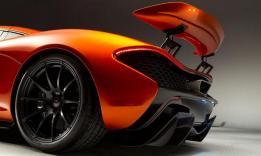 McLaren P1 Back Trasera Wing