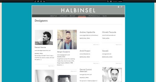 Halbinsel Design - Designers 2014