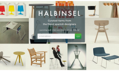 Halbinsel Design - Launch page