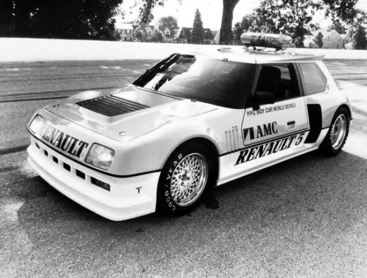 Renault 5 Turbo II PPG Pace Car