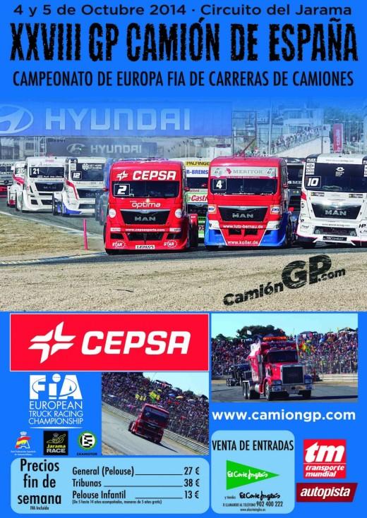 Cartel GP Camion 2014 Jarama