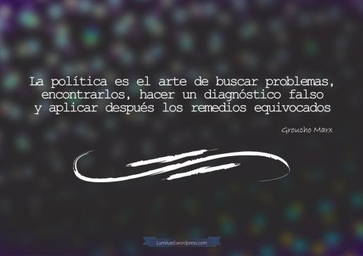politicos vs problemas
